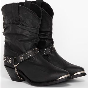Like New Shyanne Slouch Harness Boots